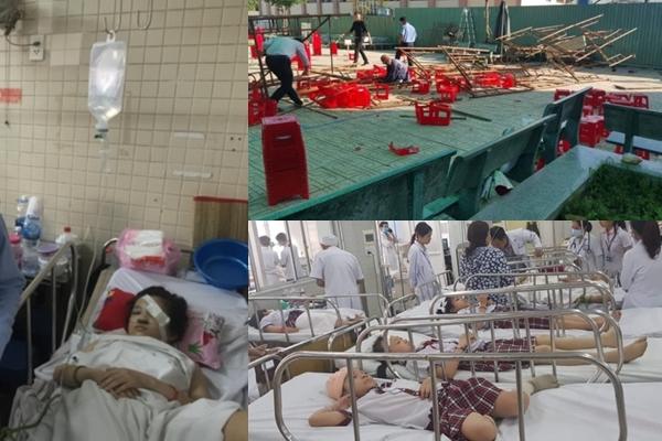 Vụ sập khung sắt sân khấu 20/11 ở TPHCM: 8 học sinh đã được xuất viện - Ảnh 1