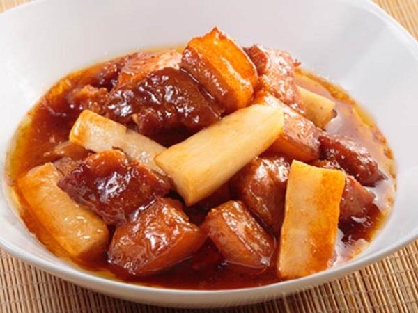 Món ngon mỗi ngày: Thịt kho củ cải đưa cơm ngày lạnh - Ảnh 4