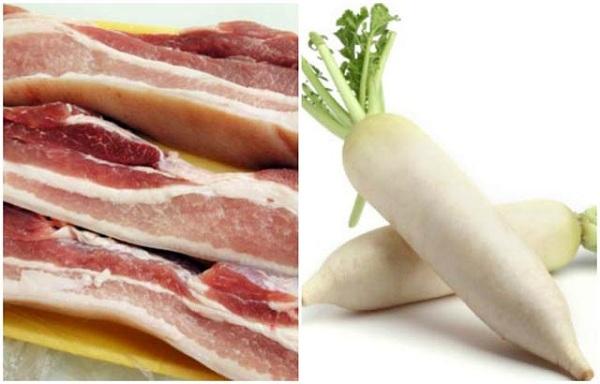Món ngon mỗi ngày: Thịt kho củ cải đưa cơm ngày lạnh - Ảnh 1
