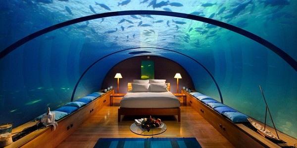 Có gì bên trong khách sạn dưới đáy biển đầu tiên trên thế giới, giá thuê 1,1 tỷ đồng/đêm - Ảnh 2