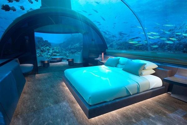 Có gì bên trong khách sạn dưới đáy biển đầu tiên trên thế giới, giá thuê 1,1 tỷ đồng/đêm - Ảnh 3