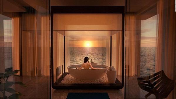 Có gì bên trong khách sạn dưới đáy biển đầu tiên trên thế giới, giá thuê 1,1 tỷ đồng/đêm - Ảnh 4