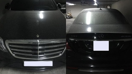 Góc xót của: Xế sang Mercedes 10 tỷ phủ bụi trên phố Hà Nội hàng tháng trời - Ảnh 3