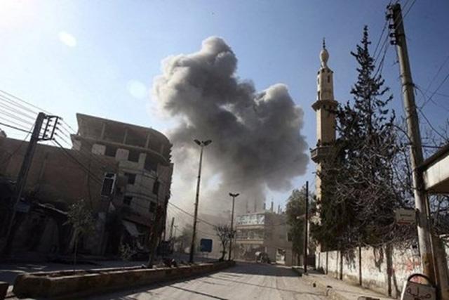 Trụ sở quân đội Nga ở Syria phát nổ, 7 quân nhân tử nạn - Ảnh 1