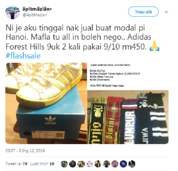 """CĐV Malaysia bán cả """"gia tài"""" để có được tấm vé sang Việt Nam xem chung kết AFF Cup - Ảnh 2"""