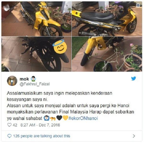 """CĐV Malaysia bán cả """"gia tài"""" để có được tấm vé sang Việt Nam xem chung kết AFF Cup - Ảnh 4"""