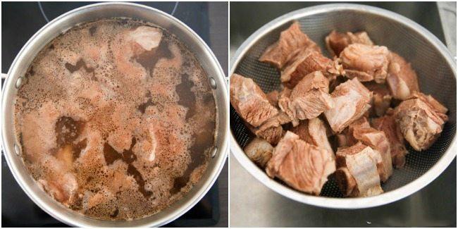 Cách chế biến sườn kho cay kiểu Hàn cho bữa cơm tối đậm đà - Ảnh 2