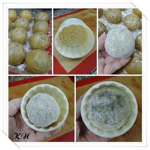 Cách làm bánh trung thu nhân đậu xanh cực ngon tại nhà - Ảnh 2