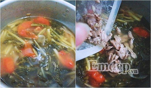Món ngon mỗi ngày: Cách nấu canh dưa chua thịt bò cho ngày chán cơm - Ảnh 5