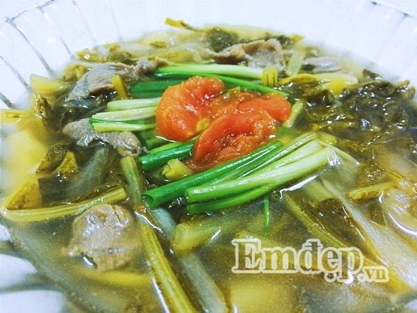 Món ngon mỗi ngày: Cách nấu canh dưa chua thịt bò cho ngày chán cơm - Ảnh 6