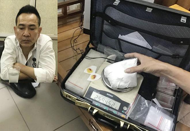 """Triệt phá đường dây mua bán ma túy """"khủng"""" ở Hà Nội, tạm giữ 4 nghi phạm - Ảnh 1"""