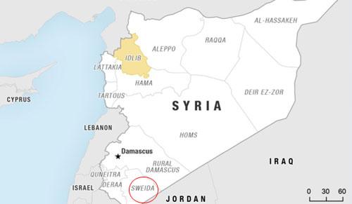 Hơn 1.000 tay súng IS bị quân đội Syria vây khốn trên núi lửa - Ảnh 2