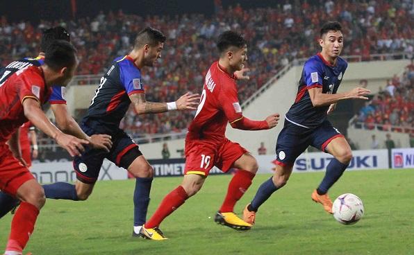 Thắng đậm trước Philippines (4-2), tuyển Việt Nam viết đoạn kết hoàn hảo cho năm 2018 - Ảnh 1
