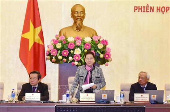 Khai mạc phiên họp thứ 30 của Ủy ban Thường vụ Quốc hội - Ảnh 1