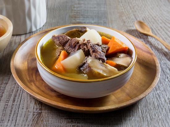 Món ngon mỗi ngày: Thịt bò hầm củ cái trắng bổ dưỡng vào mùa lạnh - Ảnh 4