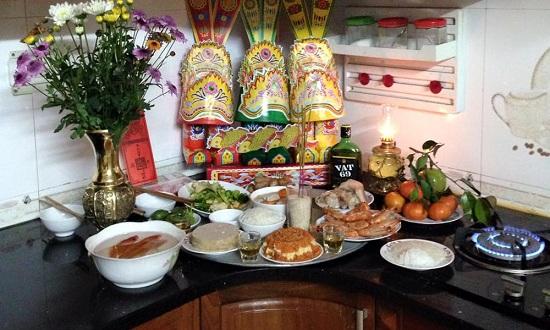 Cách dọn nhà bếp để lễ cúng ông Công ông Táo 23 tháng Chạp được trọn vẹn - Ảnh 1