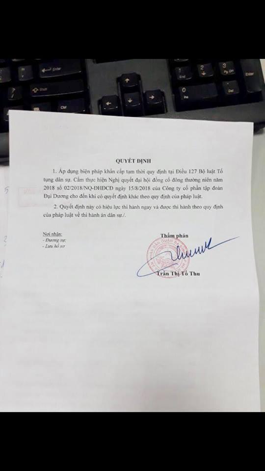 Vụ kiện giữa Hà Bảo và Đại Dương: Tòa án quận Ba Đình có vội vàng? - Ảnh 2