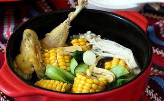 Món ngon mỗi ngày: Canh gà hầm rau củ ngon miệng, bổ dưỡng - Ảnh 6