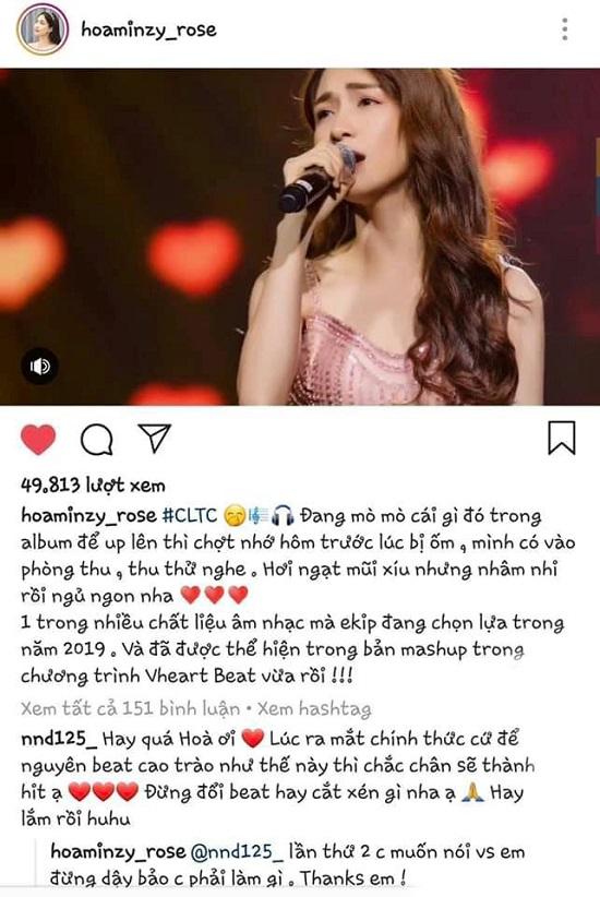 """Hết trầm cảm, Hòa Minzy tự nhận mình """"bị điên"""" - Ảnh 1"""