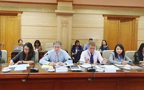 Bộ trưởng Bộ Y tế làm việc với Hội đồng kinh doanh EU- ASEAN - Ảnh 2