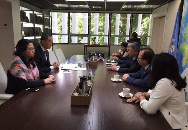 Đoàn đại biểu Bộ Y tế tham dự Kỳ họp lần thứ 70 của Tổ chức Y tế Thế giới khu vực Tây Thái Bình Dương - Ảnh 2