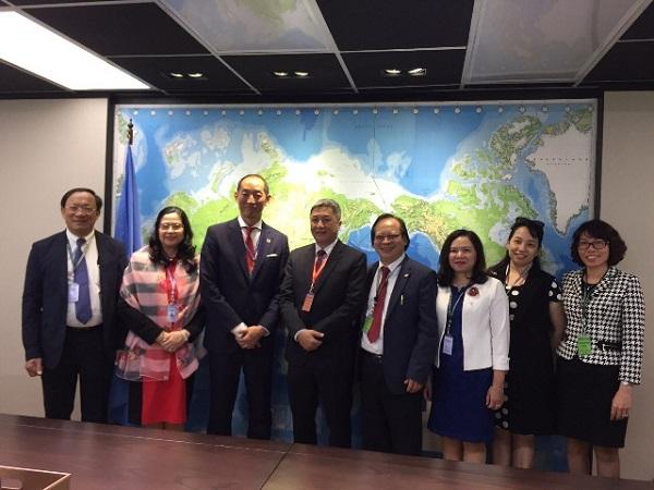 Đoàn đại biểu Bộ Y tế tham dự Kỳ họp lần thứ 70 của Tổ chức Y tế Thế giới khu vực Tây Thái Bình Dương - Ảnh 3