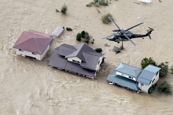 Siêu bão Hagibis tàn phá Nhật Bản: Gần 50 người chết, hàng trăm người bị thương - Ảnh 1