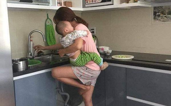 """Lương 6 triệu đồng/tháng, chồng chê vợ ở nhà """"lười chảy thây"""" liền bị mẹ bỉm dạy cho bài học nhớ đời - Ảnh 1"""
