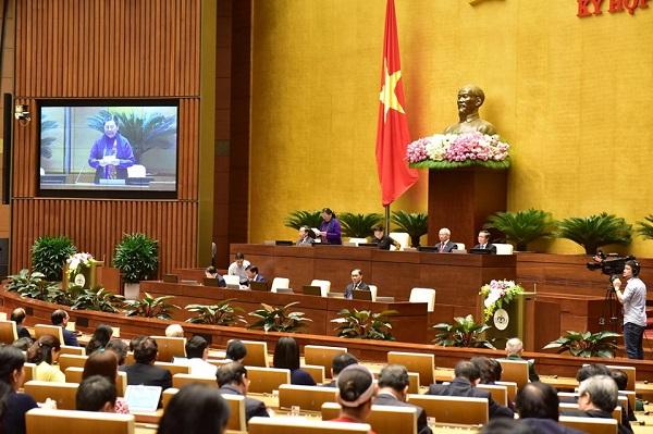 Khai mạc kỳ họp thứ 8, Quốc hội khóa XIV - Ảnh 1