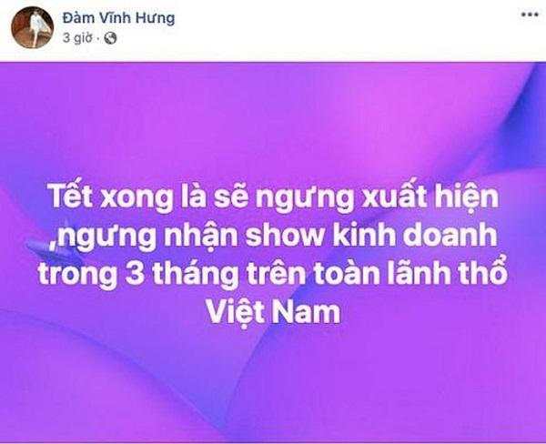 """Đàm Vĩnh Hưng giàu có cỡ nào mà đột nhiên tuyên bố """"ngưng nhận show""""? - Ảnh 1"""