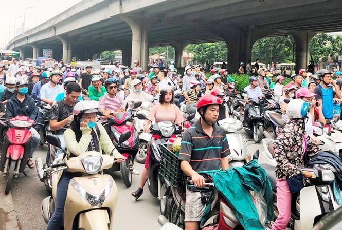 """Hà Nội: Thêm 5 huyện có thể nằm trong """"vùng cấm"""" xe máy - Ảnh 1"""