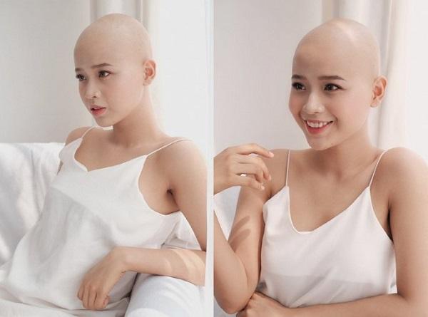 """Nụ cười rạng rỡ của """"chiến binh"""" 19 tuổi mắc bệnh ung thư vú - Ảnh 2"""