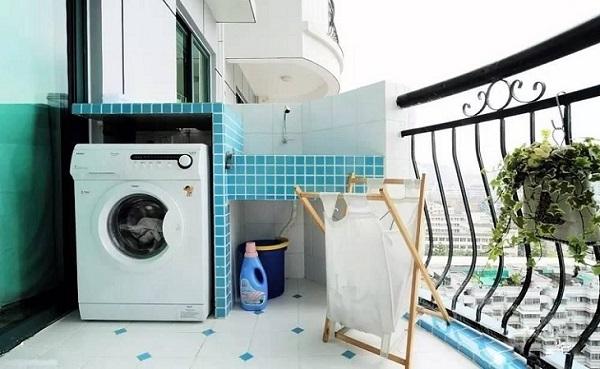 Đặt máy giặt thế này bảo sao Thần Tài ưng ý, ban lộc chật nhà - Ảnh 1