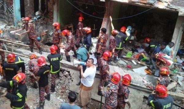 Bangladesh: Nổ đường ống dẫn gas, ít nhất 39 người thương vong - Ảnh 1