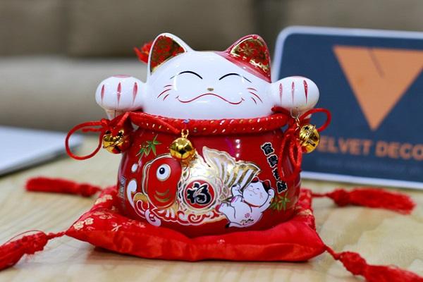 Đặt mèo Thần Tài đúng 10 vị trí này: Lộc lá quanh năm, tiền bạc kéo về ào ào - Ảnh 1