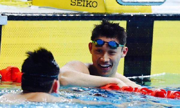 """Ngẩn ngơ trước vẻ điển trai của """"hot boy làng bơi lội"""" mới nổi tại SEA Games 30 - Ảnh 6"""