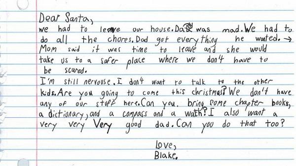 Rơi nước mắt bức thư cậu bé 7 tuổi gửi ông già Noel - Ảnh 1