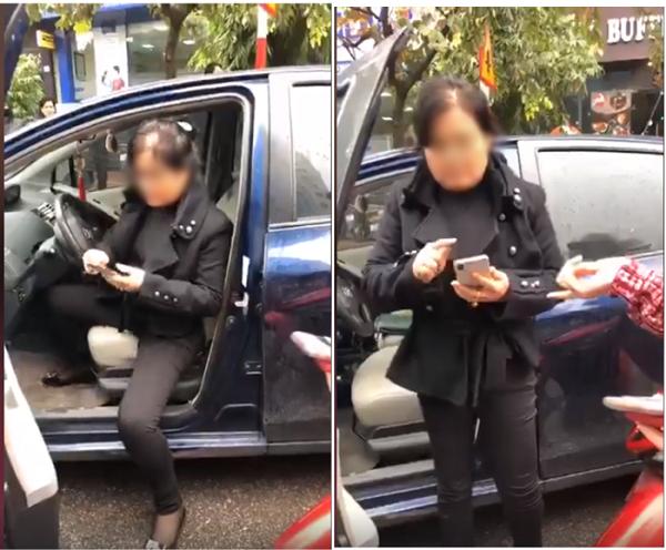 """Xôn xao clip màn đối đáp """"chan chát"""" của 2 người phụ nữ sau va chạm giao thông - Ảnh 2"""