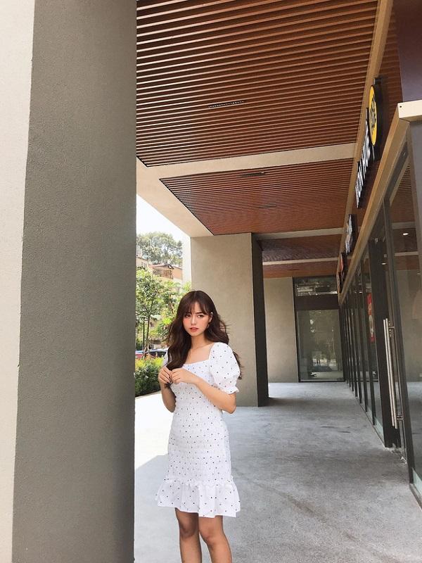 Hot girl ĐH Công Nghiệp Thực Phẩm TP.HCM kiếm 50 triệu đồng/tháng nhờ bức ảnh mặc đồng phục - Ảnh 7