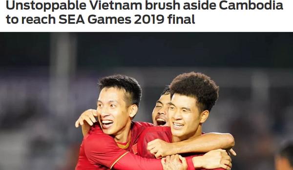 """Báo châu Á dùng từ """"không thể cản"""" để nói về U22 Việt Nam - Ảnh 1"""