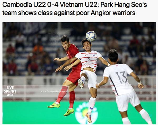 """Báo châu Á dùng từ """"không thể cản"""" để nói về U22 Việt Nam - Ảnh 2"""