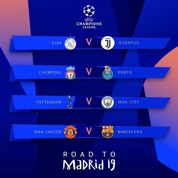 Tứ kết Champions League: Barcelona đối đầu Man United - Ảnh 1