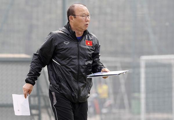 HLV Park Hang Seo loại thêm 5 cầu thủ, rút gọn danh sách U23 Việt Nam - Ảnh 1