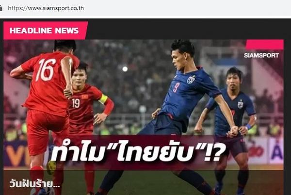 """Thua sốc trước U23 Việt Nam, báo Thái Lan gọi là """"ngày ác mộng"""" - Ảnh 1"""