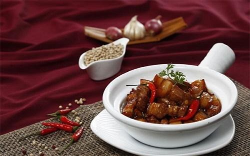 Món ngon mỗi ngày: Thịt lợn kho tiêu đậm đà, thơm ngon - Ảnh 5