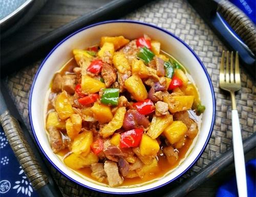 Món ngon mỗi ngày: Thịt heo xào dứa chua ngọt cực ngon - Ảnh 4