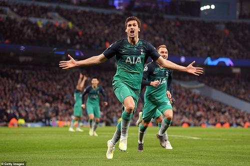 Tottenham rượt đuổi ngoạn mục với Man City, lần đầu vào bán kết Champions League  - Ảnh 1