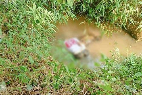 Hoảng hồn phát hiện nam thanh niên tử vong trong tư thế úp mặt dưới hố nước cạn  - Ảnh 1