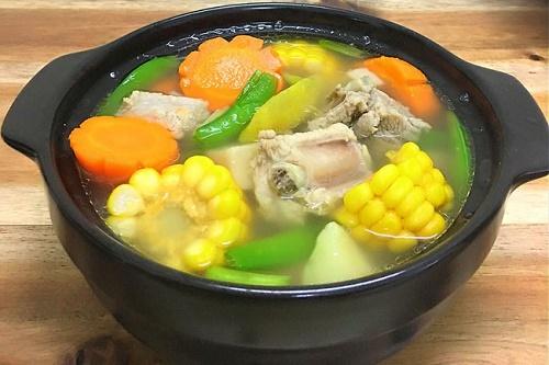 Món ngon mỗi ngày: Canh sườn rau củ thanh mát cho bữa trưa - Ảnh 4