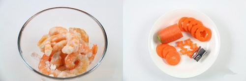Món ngon mỗi ngày: Rau củ xào tôm ngon ngọt cho bữa tối - Ảnh 1